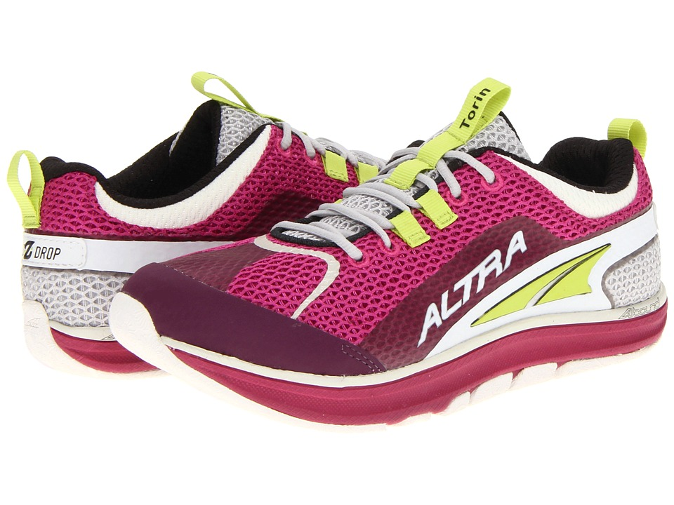Altra Zero Drop Footwear - The Torin (Fuchsia/Grey) Women's Running Shoes