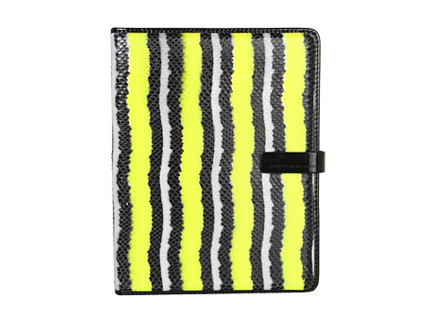 Marc by Marc Jacobs Wild Card Tablet Book (Safety Yellow) Computer Bags