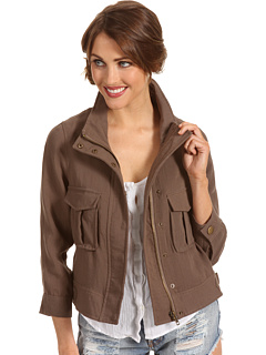 SALE! $49.99 - Save $39 on Brigitte Bailey Wrenn Linen Blazer (Taupe) Apparel - 43.83% OFF $89.00
