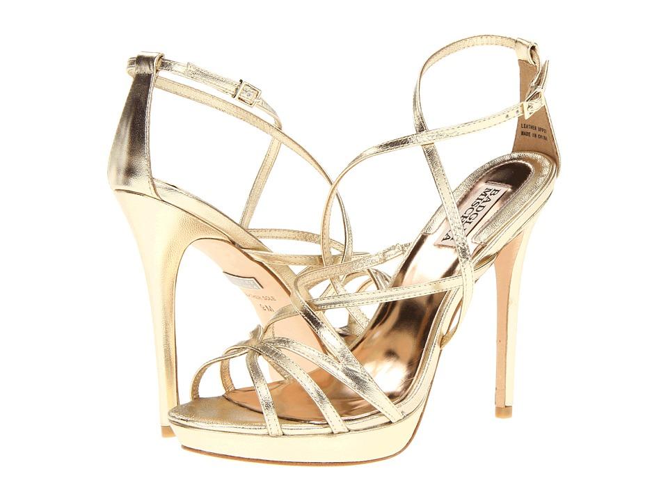 Badgley Mischka - Adonis II (Platino) High Heels