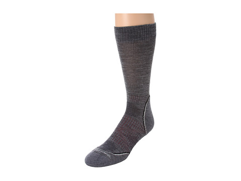 Smartwool - PHD Outdoor Light Crew (Medium Gray) Men's Crew Cut Socks Shoes