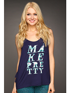 SALE! $15.99 - Save $22 on kensie Tullah`s Garden Tank (Navy Print 2) Apparel - 57.92% OFF $38.00