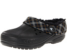 Crocs - Blitzen Winter Plaid Unisex (Black/Black) - Footwear