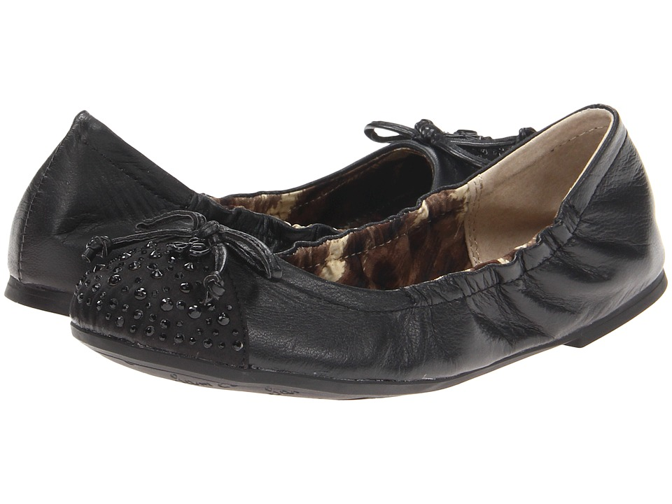 Sam Edelman Kids - Beatrix (Little Kid/Big Kid) (Black Leather) Girls Shoes