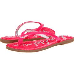 SALE! $16.99 - Save $21 on Sam Edelman Kids Gracie (Toddler Little Kid) (Neon Pink Patent) Footwear - 55.29% OFF $38.00