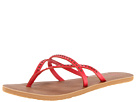 Volcom - All Day Long Creedlers (Red) - Footwear