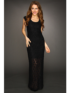 SALE! $109.99 - Save $255 on Nicole Miller Cutout Back Lace Gown (Black) Apparel - 69.87% OFF $365.00