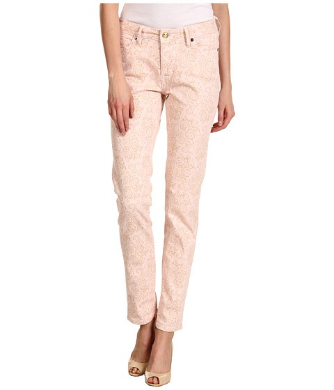 Christopher Blue - Isabel Ric Rise Ankle Skinny Descanso Floral (Light Pink) Women