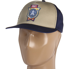 SALE! $11.99 - Save $10 on Obey Light Brew Snapback Hat (Sand Navy) Hats - 45.50% OFF $22.00