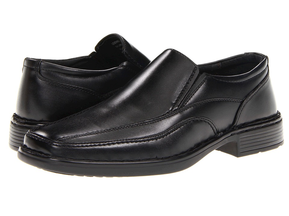 RW by Robert Wayne - Remy (Black) Men's Slip on Shoes