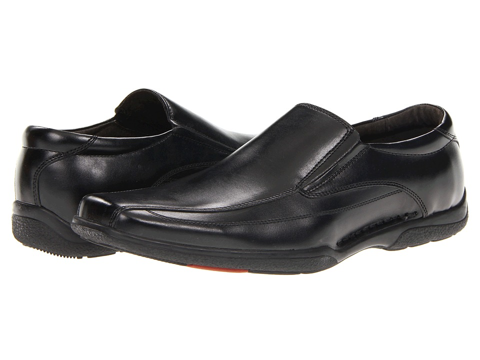 Robert Wayne - Lucas (Black) Men's Slip on Shoes