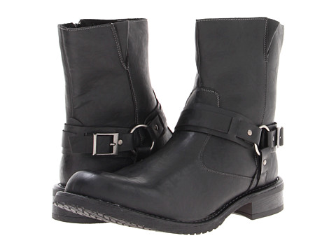 RW by Robert Wayne - Connor (Black) Men's Zip Boots