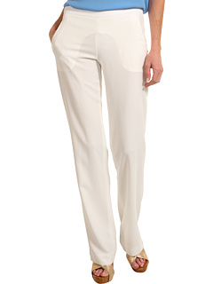 SALE! $76.99 - Save $178 on Theory Mitrana B Pant (White) Apparel - 69.81% OFF $255.00