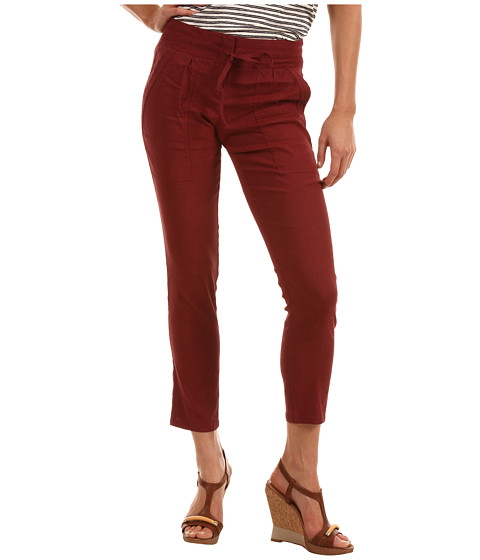 Theory - Sidonia T Pant (Red) Women's Casual Pants