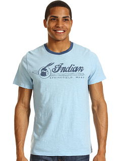SALE! $16.99 - Save $23 on Lucky Brand Indian 257th Tee (Spring Blue) Apparel - 56.99% OFF $39.50