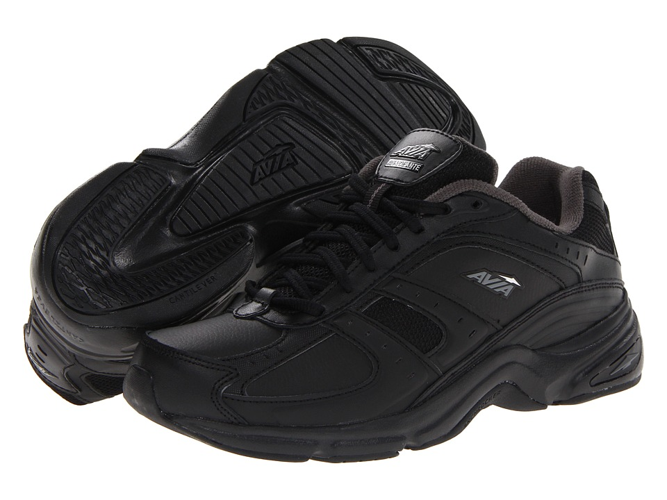 Avia - Avi-Volante (Black/Iron Grey/Chrome Silver) Women's Walking Shoes