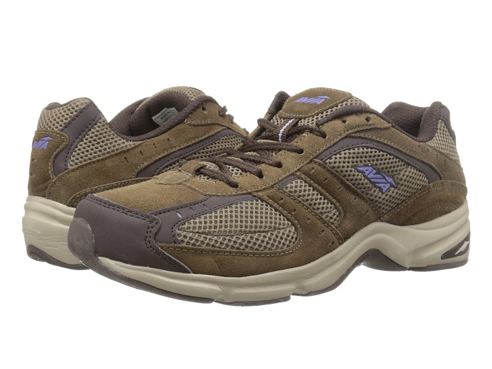 Avia - Avi-Volante Country (Shitake Brown/Espresso/Violet Blaze/Stone Taupe) Women's Walking Shoes