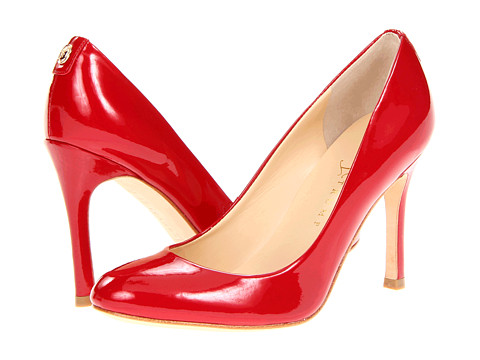 Ivanka Trump - Janie (Strawberry Luster Patent) High Heels