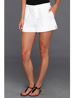 SALE! $21.99 - Save $46 on C C California GD Solid Linen Short (White) Apparel - 67.66% OFF $68.00