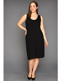 SALE! $65.04 - Save $31 on Karen Kane Plus Plus Size Tank Dress (Black) Apparel - 32.25% OFF $96.00