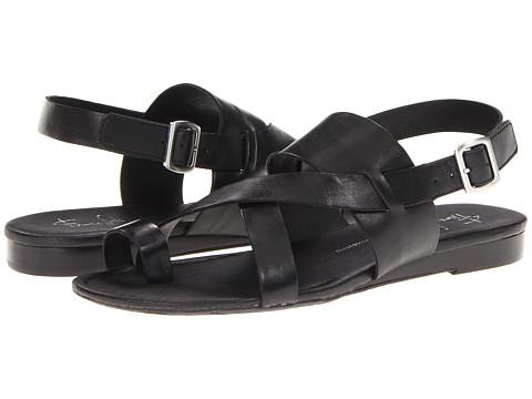 Franco Sarto - Gia (Black Leather) Women's Sandals