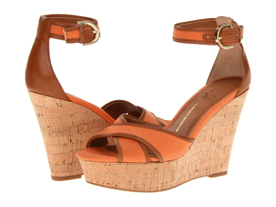 Franco Sarto - Raina (Pumpkin Canvas) Women's Wedge Shoes