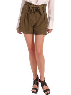 SALE! $44.99 - Save $105 on Theory Ettie T Dunes Short (Cactus) Apparel - 70.01% OFF $150.00