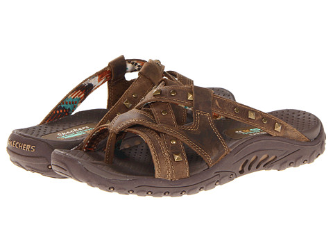SKECHERS - Reggae - Sound Stage (Brown) Women's Sandals