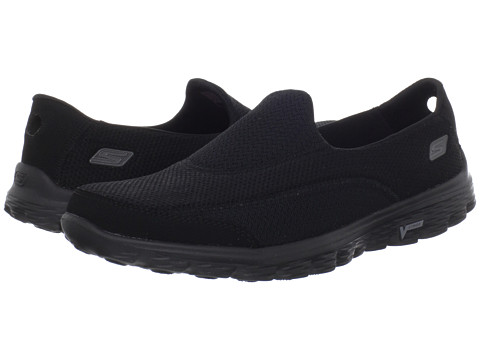 SKECHERS Performance - GOWalk 2 (Black) Women's Shoes