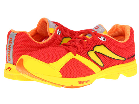 Newton Running - Distance S (Red/Yellow) Men's Running Shoes