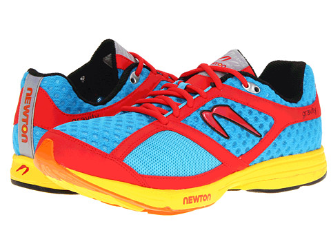Newton Running - Gravity (Blue/Red) Men's Running Shoes