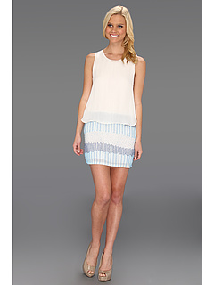 SALE! $111.99 - Save $262 on Parker Grace Dress (Surf) Apparel - 70.06% OFF $374.00