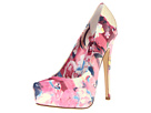Truth or Dare By Madonna - Desroches (Multi Print Flower Patent Cow) - Footwear