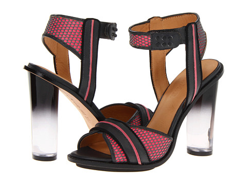 L.A.M.B. - Carter (Grey/Pink/Black) High Heels
