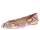 Juicy Couture - Jailyn (Neon Pink/Neutral Pop Snake Print) - Footwear