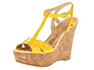Juicy Couture - Dakota (Bright Yellow Patent) - Footwear