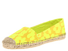 Juicy Couture - Gigi (Yellow Neon Cheetah Fabric) - Footwear