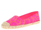 Juicy Couture - Gigi (Pink Neon Cheetah Fabric) - Footwear