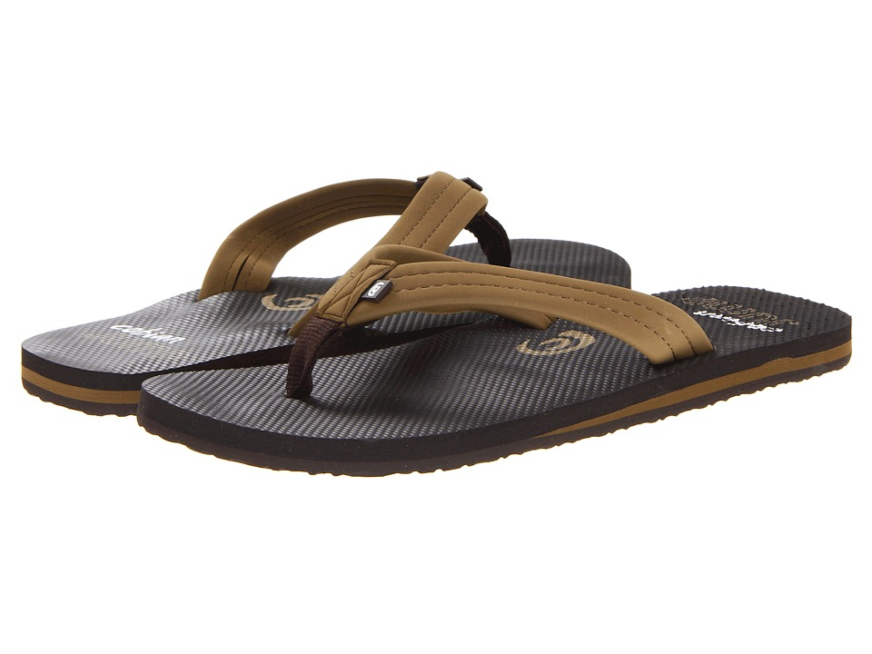 Cobian - Aqua Jump (Brown) Men's Sandals