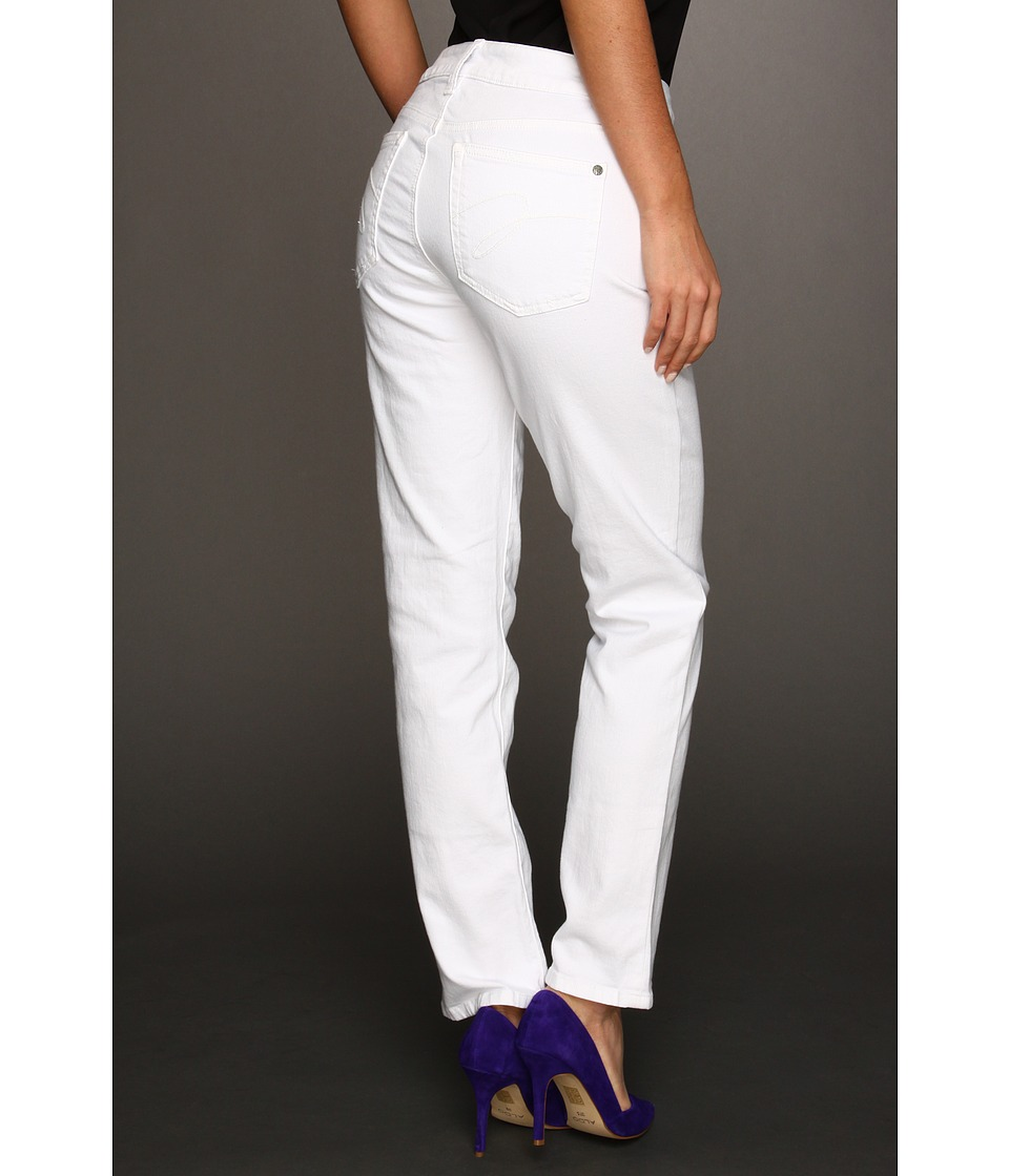 Miraclebody Jeans - Sandra D. Ankle Jean (White) Women's Jeans