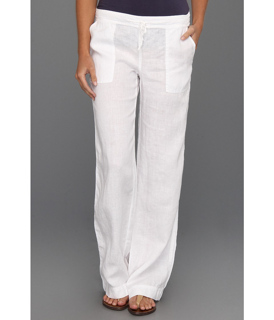Michael Stars - Linen Drawstring Pant (White) Women's Casual Pants