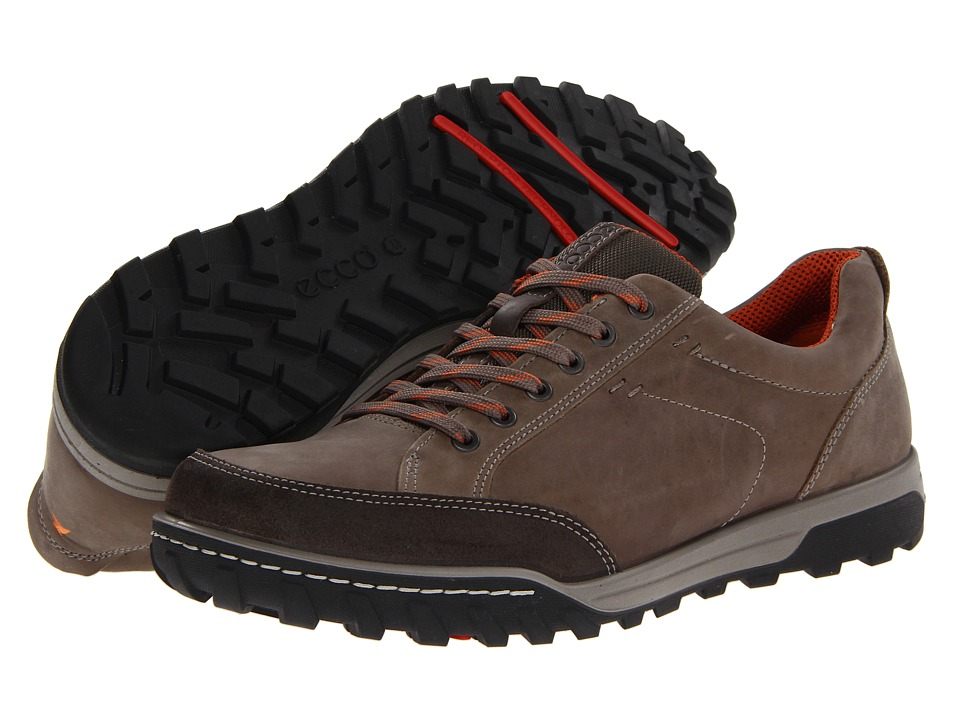 ECCO Sport - Urban Lifestyle Vermont (Warm Grey/Warm Grey Oil Suede/Oil Nubuck) Men's Lace up casual Shoes