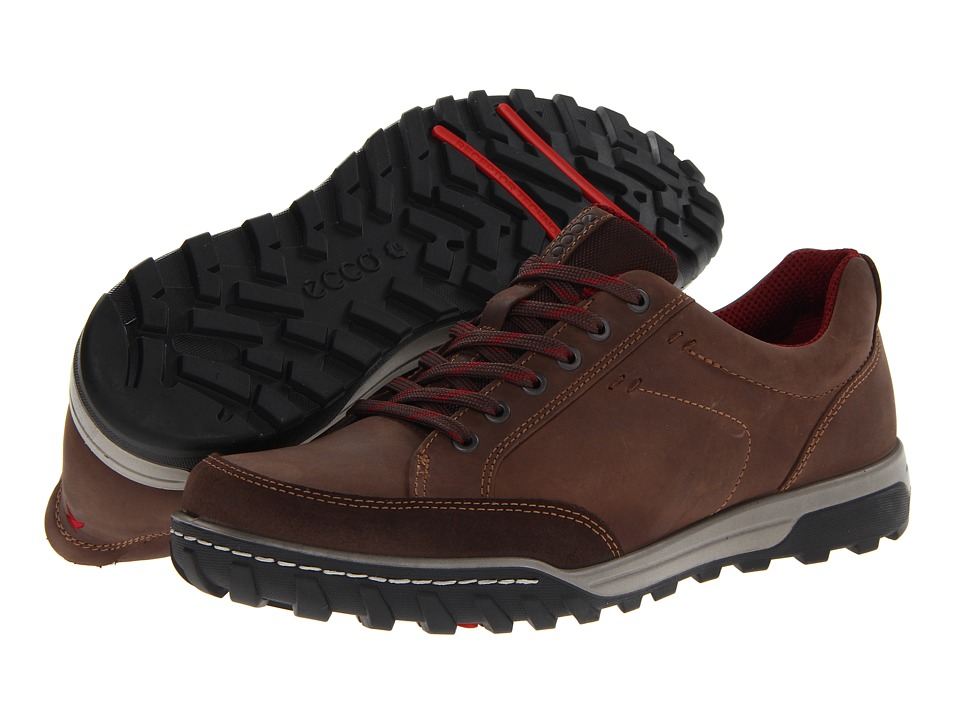 Ecco Performance - Urban Lifestyle Vermont (Espresso/Coffee Oil Suede/Oil Nubuck) Men's Lace up casual Shoes