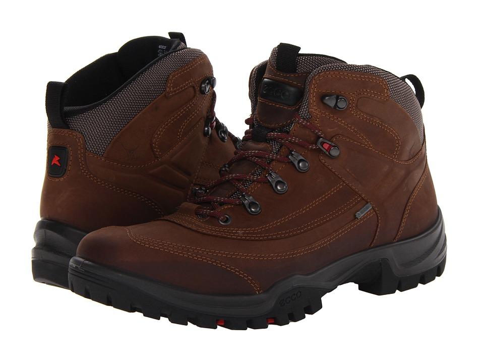 ECCO Sport - Torre Semi Mid GTX (Espresso Old Silla) Men's Hiking Boots