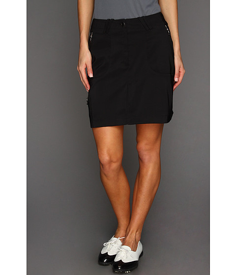 DKNY Golf - Carlie 18 Skort (Jet Black) Women