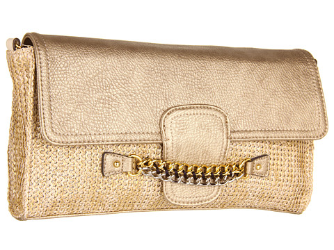 Jessica Simpson - Fearless Clutch (Natural Straw) Clutch Handbags