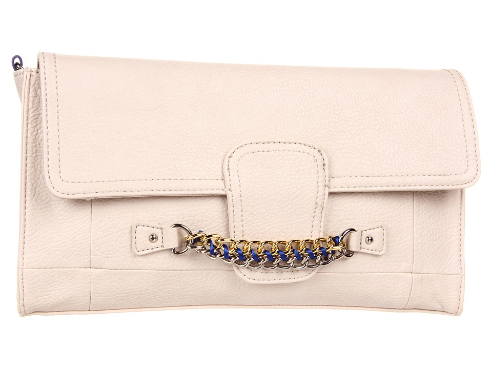 Jessica Simpson - Fearless Clutch (Cream) Clutch Handbags