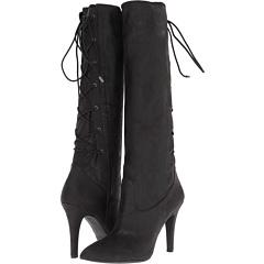 BCBGeneration Erinn (Black Sueded Shimmer) Footwear