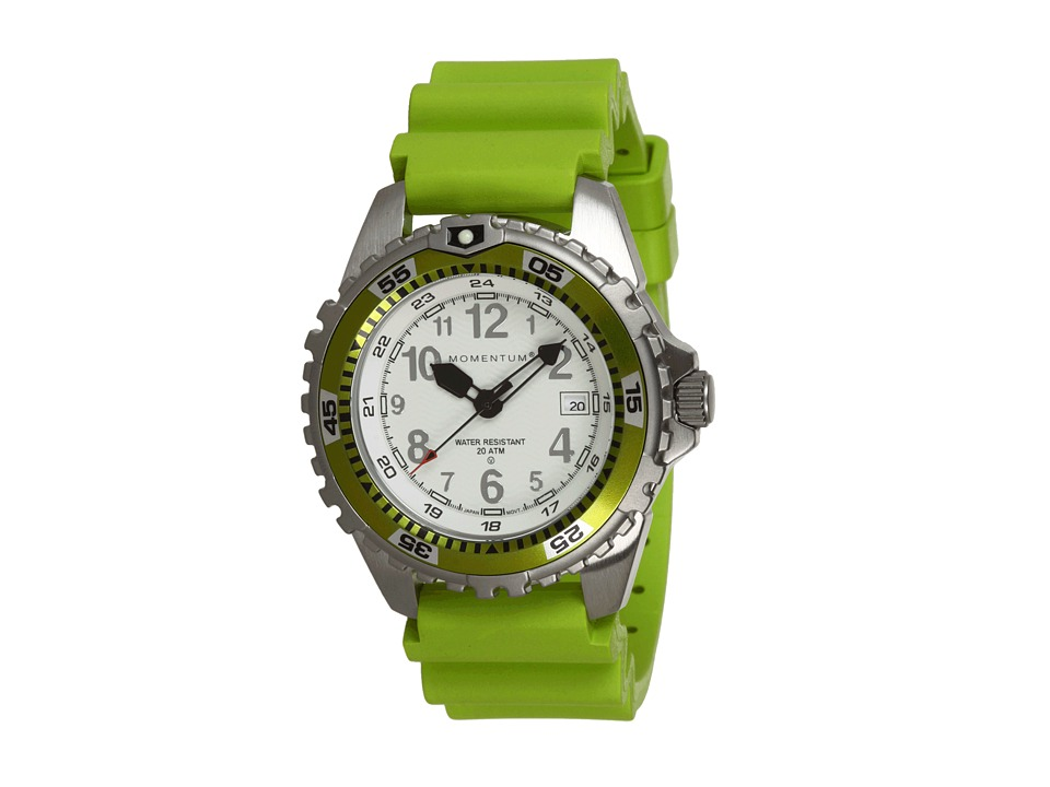 Momentum by St. Moritz - M1 Twist (White/Lime) Analog Watches