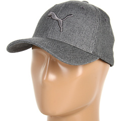 SALE! $16.99 - Save $9 on PUMA 9 Lives Flex Fit Cap (Grey Chambray Dark Grey) Hats - 34.65% OFF $26.00